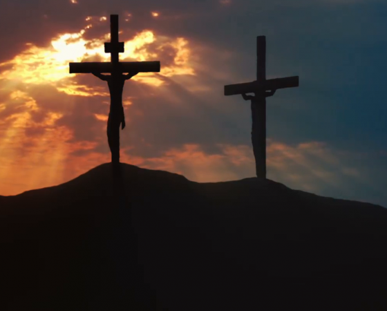 Calvary where our victory was sealed
